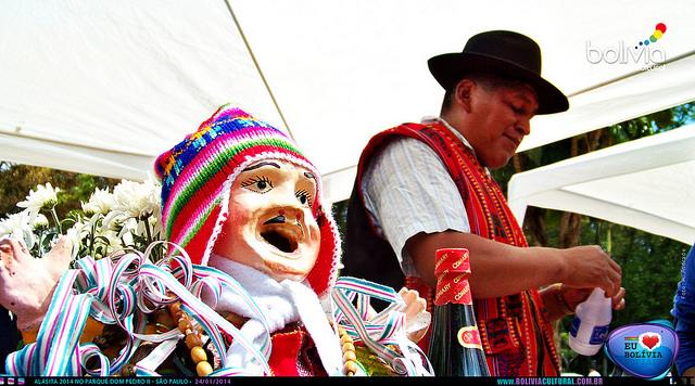 Festa Alasitas terá dose tripla na edição deste ano. Crédito: Bolívia Cultural
