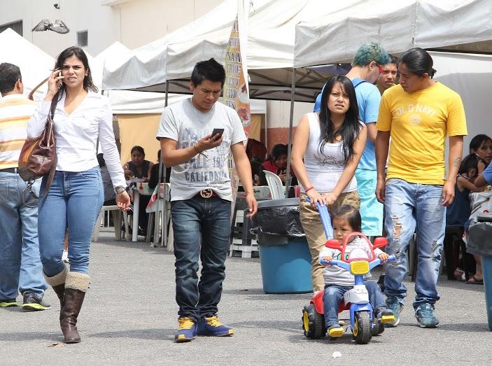 Bolivianos son la segunda major comunidad inmigrante de São Paulo. Crédito: Eduardo Schwartzberg