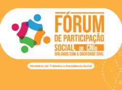 CNIg adia realização da etapa presencial do Fórum de Participação Social