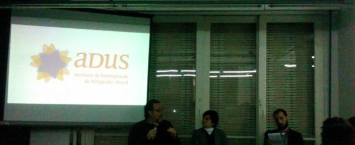 Reflexão sobre desafios do refúgio no Brasil marca lançamento de relatório do Adus