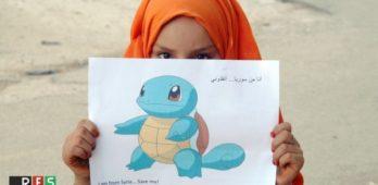 Pokémons viram meio para tentar sensibilizar o mundo sobre crianças sírias