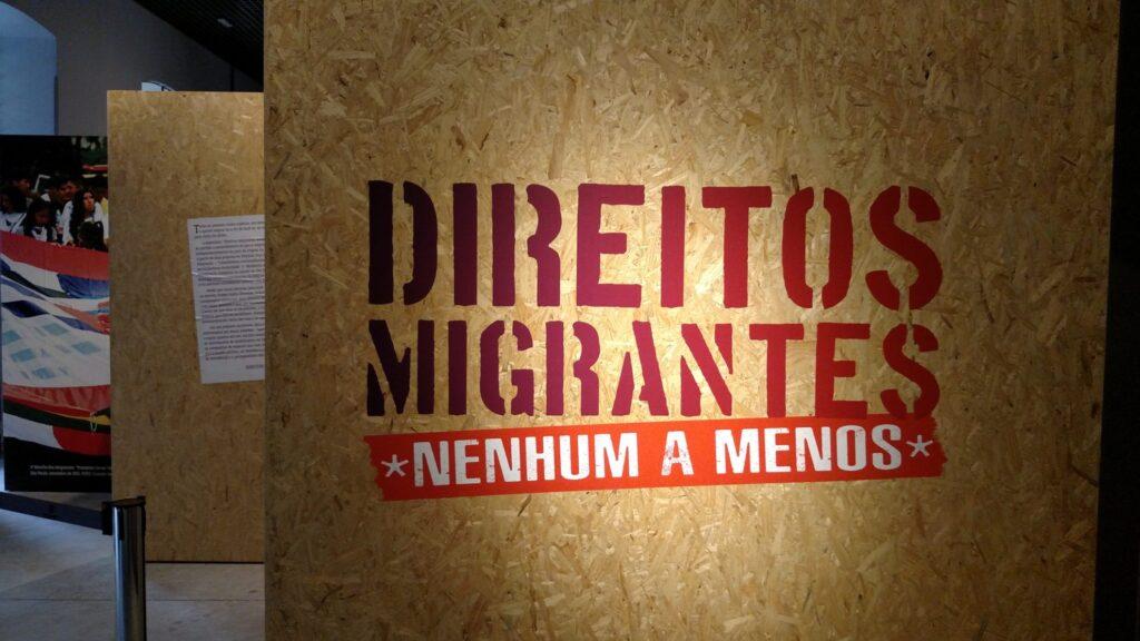 Mostra Direitos Migrantes: Nenhum a Menos fica aberta no Museu até 18 de dezembro. Crédito: Rodrigo Borges Delfim/MigraMundo