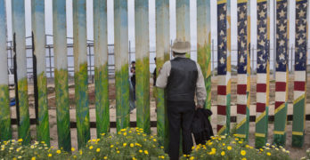 "English version: I want to show what the wall looks like, says the author of ""The Wall"""