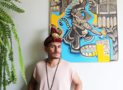 Migrantes devem valorizar a própria cultura, diz artista peruano radicado no Brasil