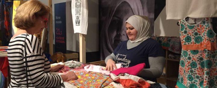 ONG e shopping em São Paulo promovem feira em prol de refugiados