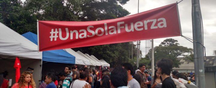 Campanha #UnaSolaFuerza é destaque na festa peruana Yunza em São Paulo