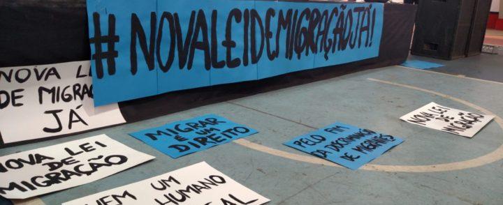 151 associações entregam carta a Temer pedindo sanção da nova Lei de Migração
