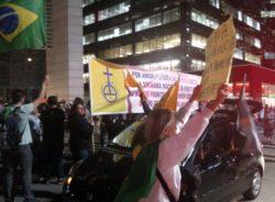 O que pessoas comuns pensam de ato anti-imigração na avenida Paulista?