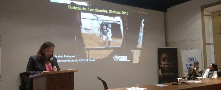 Mundo tem 65,6 mi de refugiados e deslocados internos, mostra ACNUR; Brasil tem quase 10 mil