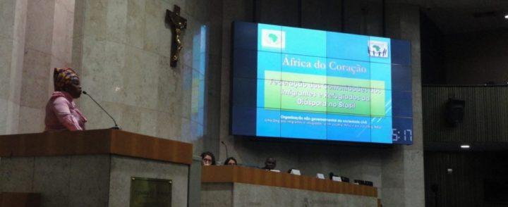 Mulheres migrantes e refugiadas levam suas vozes e vivências à Câmara Municipal de São Paulo