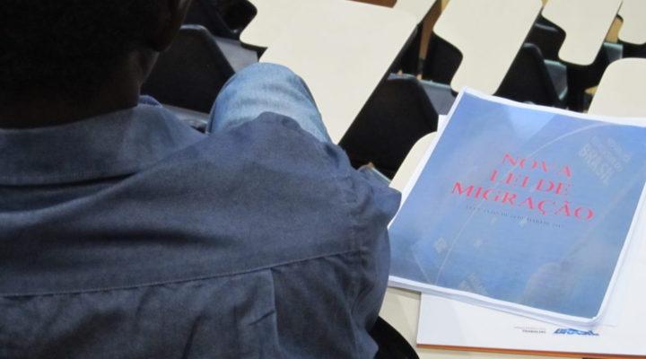 CNIg divulga caderno de propostas feitas durante atividade sobre Lei de Migração
