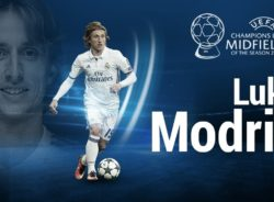 Modric, de deslocado de guerra a melhor meio-campista da Europa