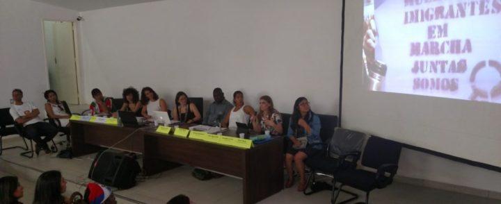 Coletivos e feira gastronômica destacam migrantes no IX Fórum de Migrações