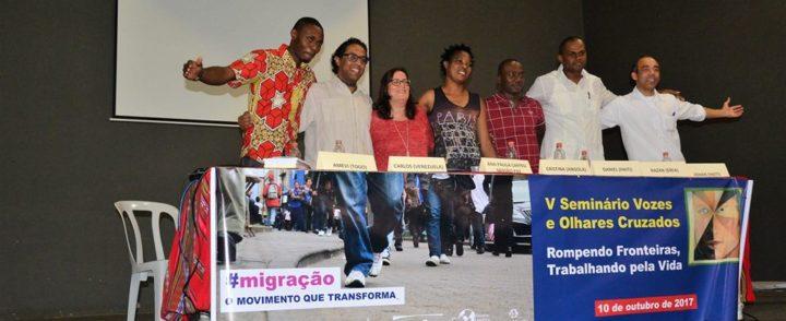 Migrantes e campanha mostram como romper barreiras