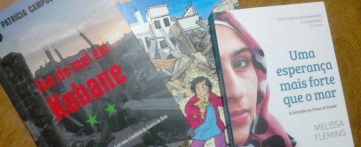 Livros retratam histórias de sobrevivência em meio à guerra