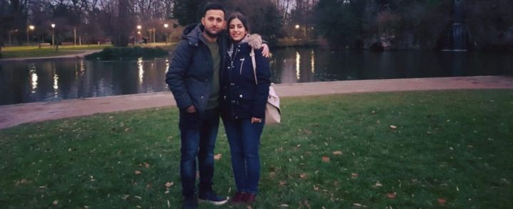 After had been separated in a boat, refugee couple meet again almost 2 years later