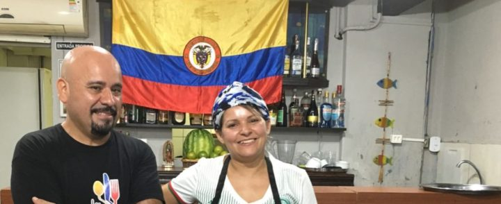 Restaurante em SP tem cozinha colombiana com toque nordestino