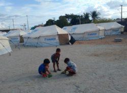Veja como é um dos abrigos criados para migrantes venezuelanos em Roraima