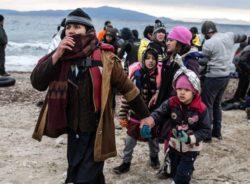 Fluxo de refugiados nas fronteiras da Europa diminui mais de 50% em três anos