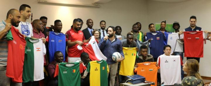 Com linguagem universal, Copa dos Refugiados 2018 inaugura etapa em São Paulo