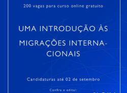 Curso online da OIM sobre migrações oferece 200 vagas para organizações